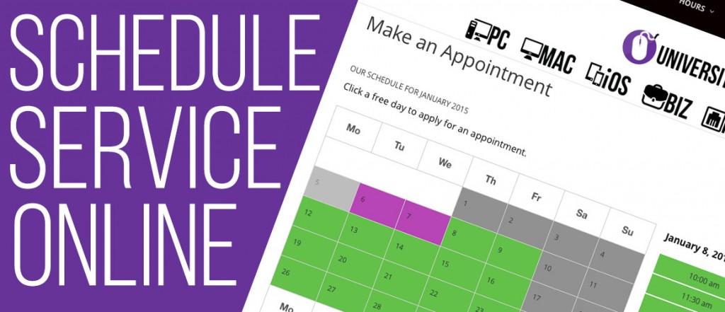 schedule-service-online
