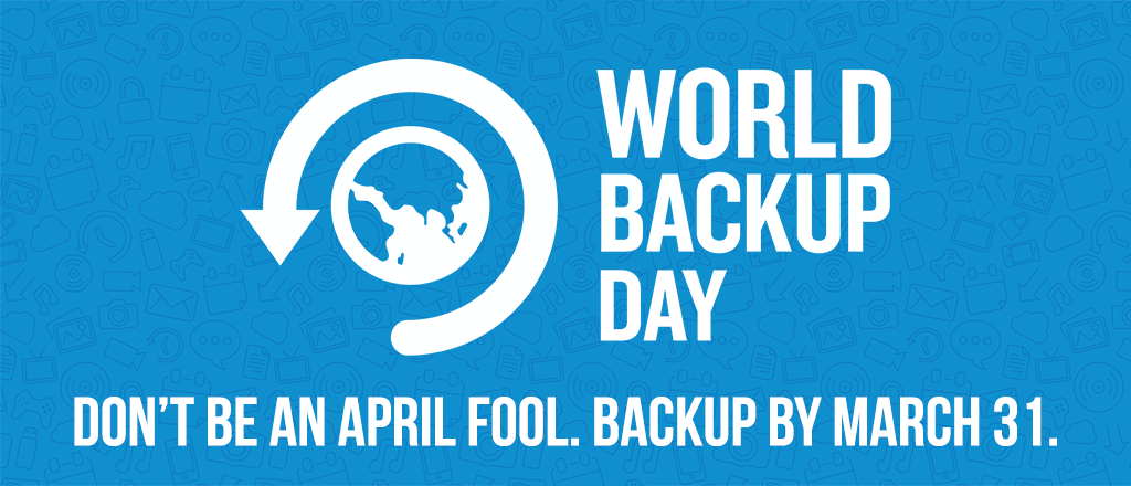 World Backup Day Special Promotions