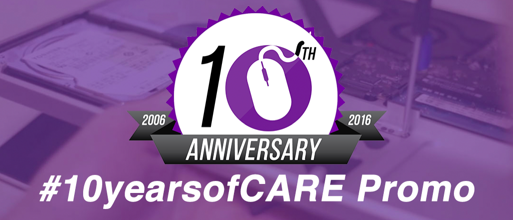 10 Years of Care Promotion