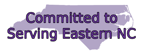 Committed to serving Eastern NC